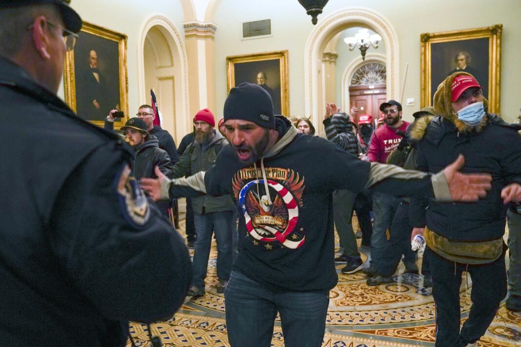 Flere amerikanske medier har meldt at Parker ble brukt til å organisere stormingen av Kongressen denne uka.