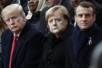 Merkel: Problematisk at Trump kastes ut av Twitter