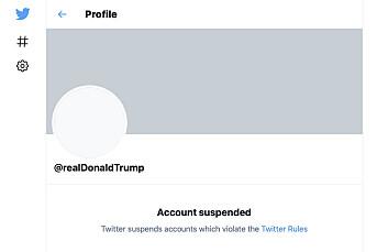 Twitter-aksjen raser grunnet uro for regulering