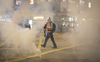 Anders Hammer kom til Hongkong uten en plan. Etter 140 dager midt blant demonstrantene kan han bli nominert til Oscar