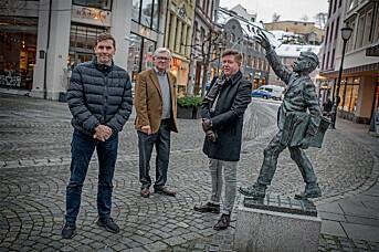 Kjell Slinning, Steinar Giske og Kåre Stig Nøstdal.