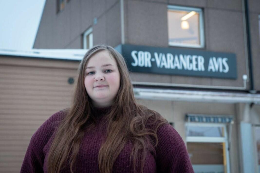 Silje Ingebrigtsen er ny journalist i Sør-Varanger Avis.