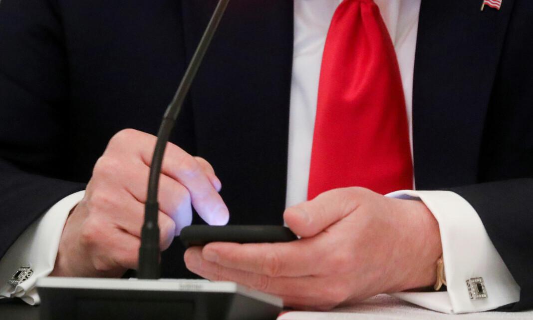 Trump-utestenging kritiseres av Reportere uten grenser