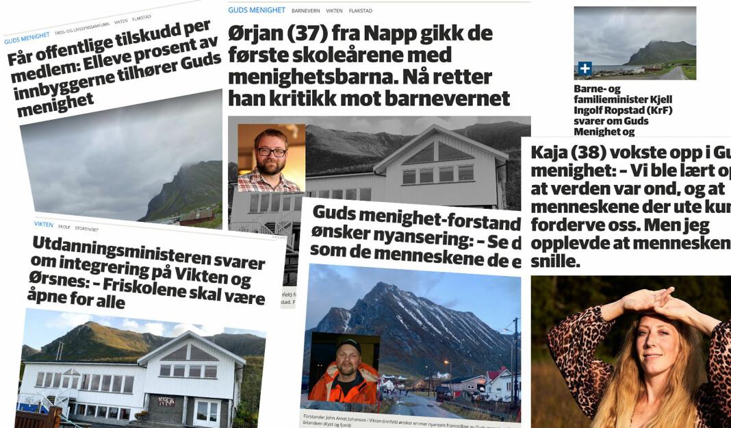 Lofot-Tidende har skrevet en rekke saker om det omdiskuterte trossamfunnet Guds menighet den siste tida. De ønsket å få fram flere sider av saken enn hva NRK Brennpunkt fikk fram i sin dokumentar.