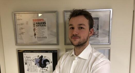 Andreas Haakonsen er ansatt som politisk reporter i VG