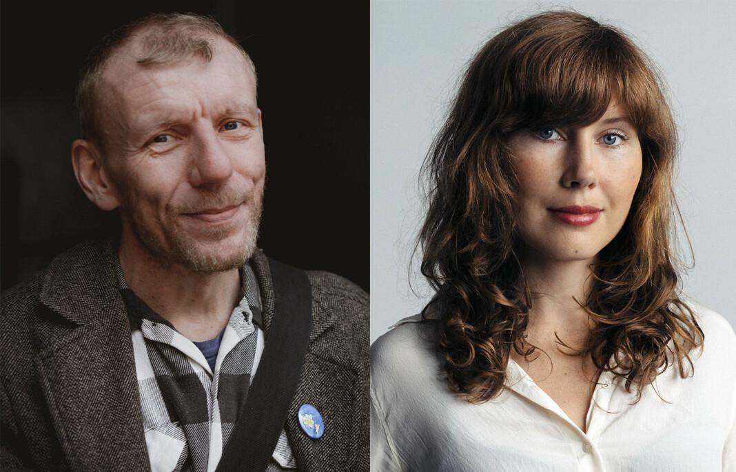 Bjørn Gabrielsen overlater nå På nattbordet til Ellen Sofie Lauritzen. Begge har de bakgrunn som forfattere og bokanmeldere.