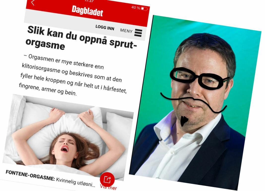 Nyhetsredaktør Frode Hansen liker ikke å bli kalt klikkforsker, men han godtar det under tvil. Han er førstemann ut i PFUs nye miniportrettserie.