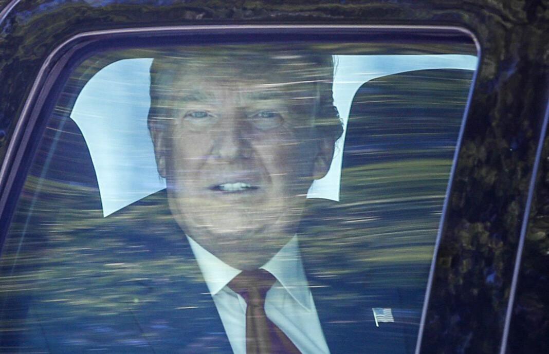 Donald Trump var USAs president i fire år. Her på vei til strandeiendommen Mar-a-Lago i Florida etter avskjeden i Washington D.C.