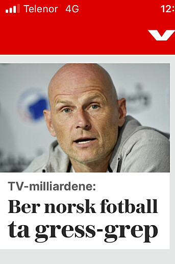 BARE HØYE BALLER, IGJEN: Ikke før hadde Ståle Solbakken blitt ny landslagssjef etter han derre trauste svensken, før han med danske manerer forlanger marihuana til de norske landslagsspillerne. Vi ser fram til skyhøye baller mot Gibraltar borte.