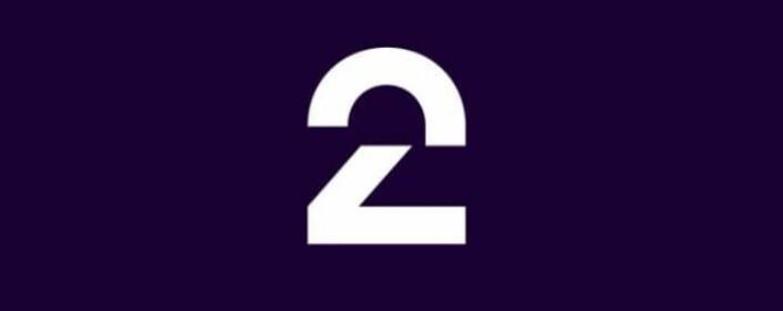 LOGOSUKSESS: TV 2 har ikke før vist fram denne nye logoen før verden går av hengslene. Moro.