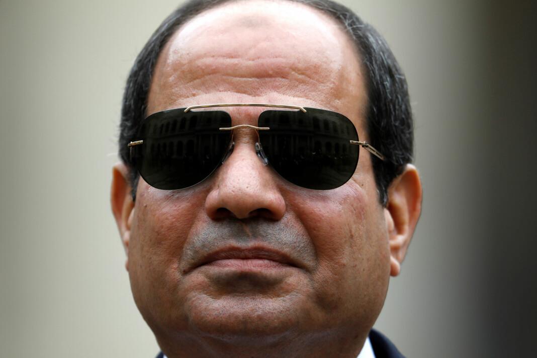 President Abdel Fattah al-Sisi har slått hardt ned på meningsmotstandere.