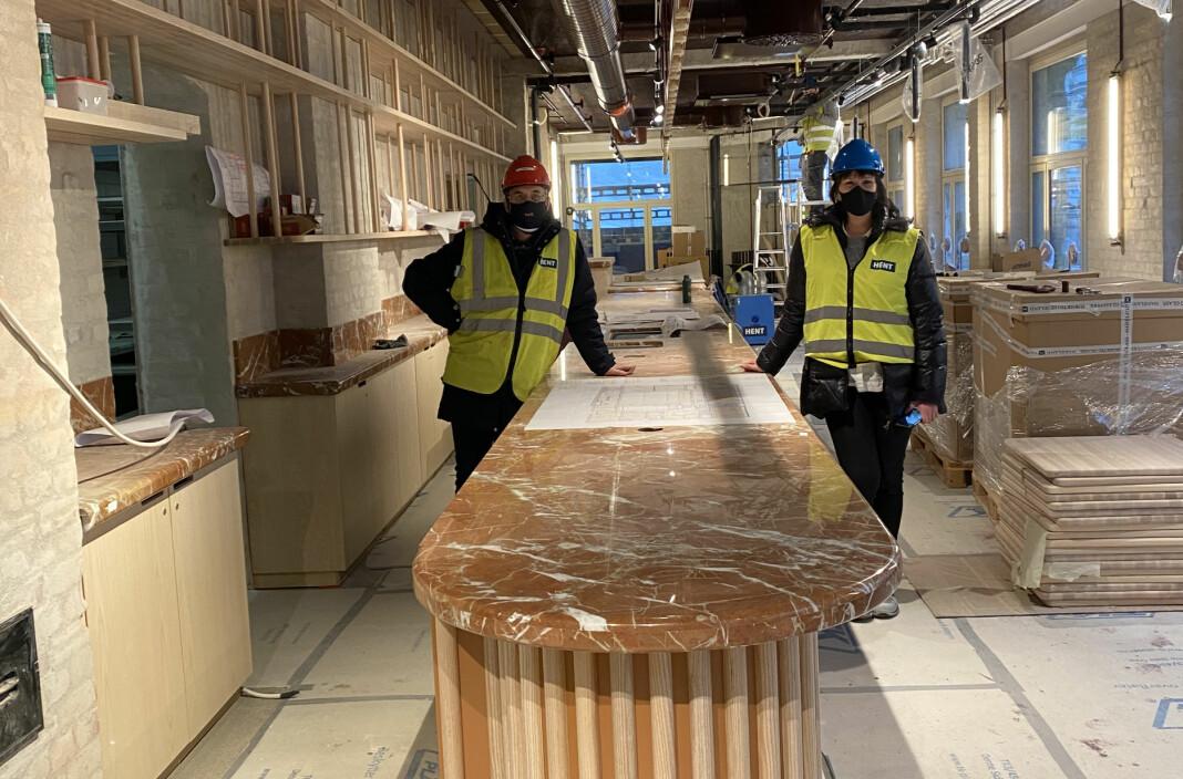 – Vi skulle overtatt bygget 15. februar, det blir i stedet 15. mars, forteller Mads Ynge Storvik, som leder styringsgruppa for Pressens hus.