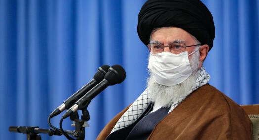 Khamenei er fortsatt på Twitter