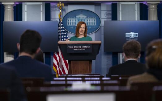 Tegnspråktolk skal delta på de daglige pressekonferansene i Det hvite hus