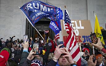Vanskelig balansegang for sosiale medier etter Trump-æraen
