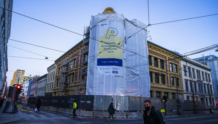 Medieleder og Norsk Redaktørforenings landsmøte skal etter planen strømmes fra Pressens hus, som nå er under oppføring i Oslo sentrum.