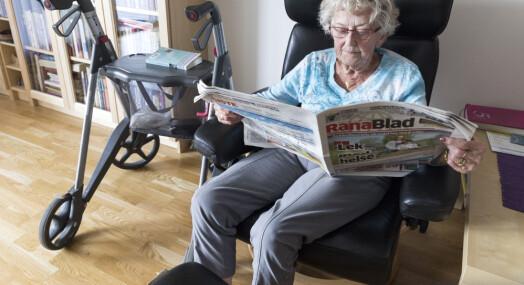 Tydelig skille i mediebruken hos de over og under 45 år