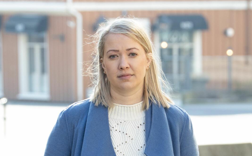 Grete Helgebø gikk til sak mot arbeidsgiver Arendals Tidende.