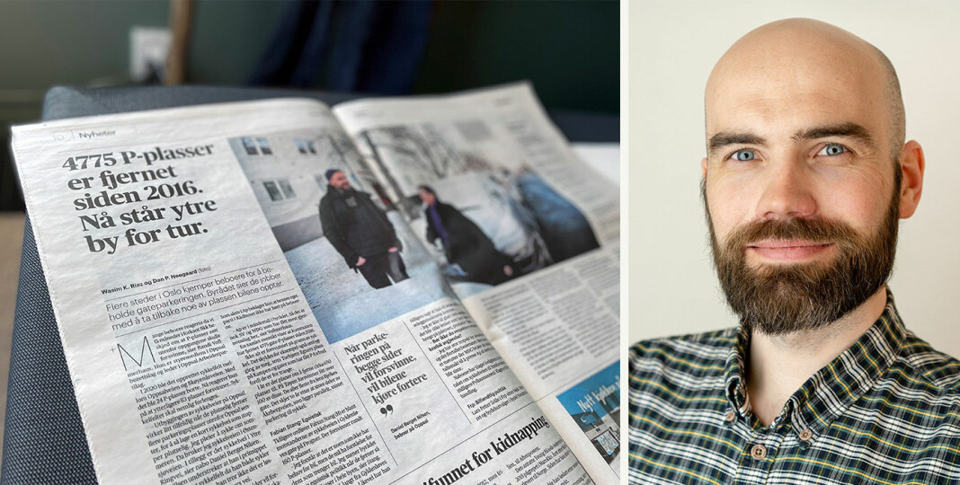 Daniel Berget Nilsen følte han måtte si fra da han så Aftenposten-saken der han selv var sitert.