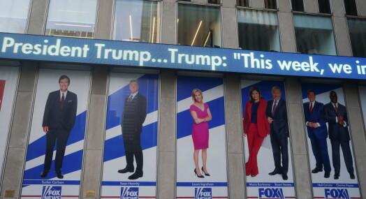 Saksøker Fox News for 23 milliarder kroner