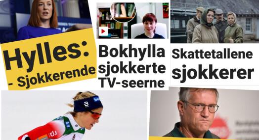 Dagbladet-sjokket: 154 dager på rad med sjokk-titler på fronten