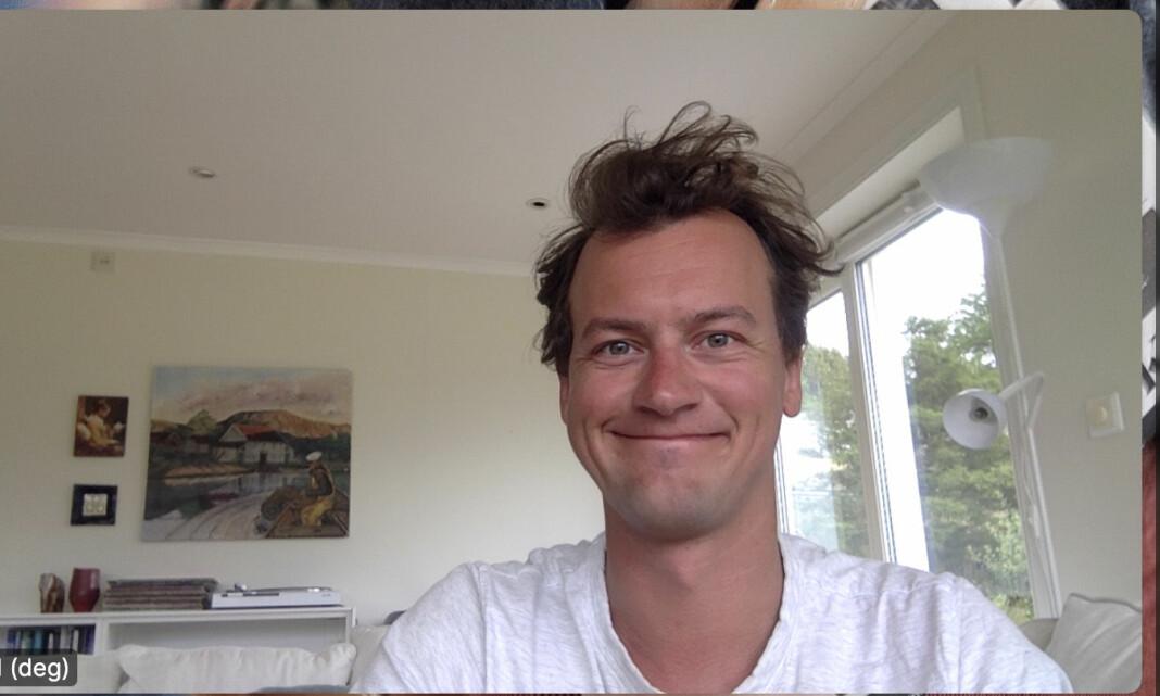David Sviland er fast ansatt som debattjournalist i Vårt Land