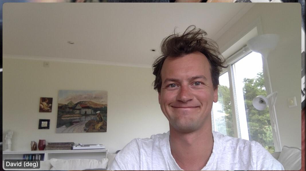 31 år gamle David Sviland får skryt fra politisk redaktør Berit Aalborg: – David er iderik og har en god forståelse for avisprosjektet Vårt Land.