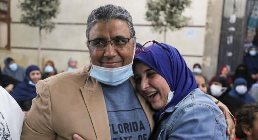 Al Jazeera-journalist er hjemme igjen etter fire år i fengsel i Egypt