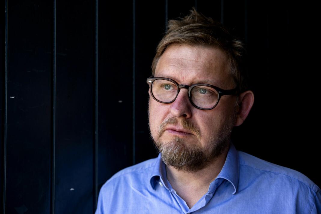 Journalist Fredrik Virtanen møter Memo forlag i Asker og Bærum tingrett.