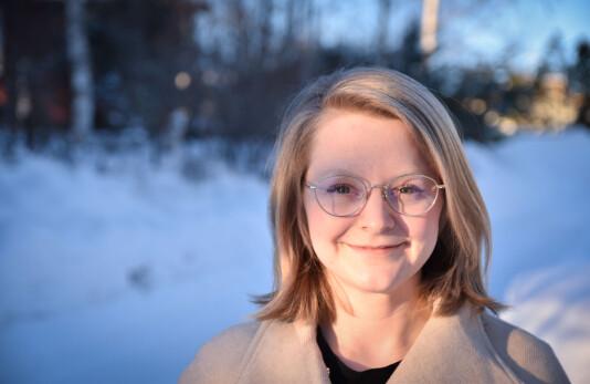 Karoline Almås Sørensen er ansatt som ansvarlig redaktør i Finnmarken