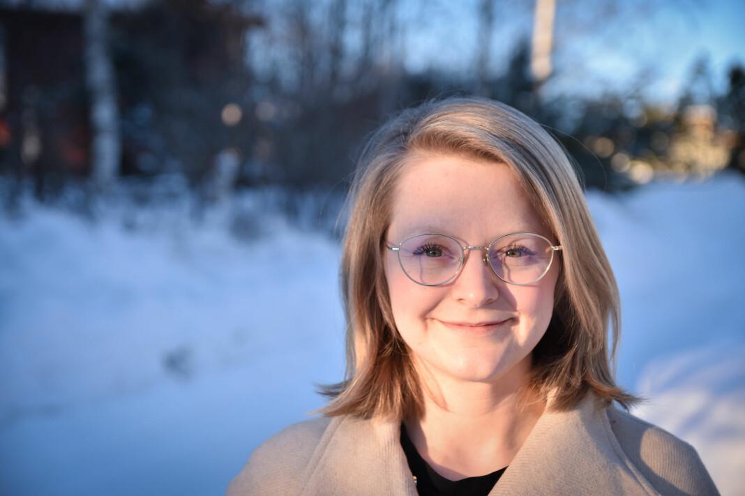 Karoline Almås Sørensen har en bachelorgrad i historie, med bredde i journalistikk og engelsk fra Høgskulen i Volda.