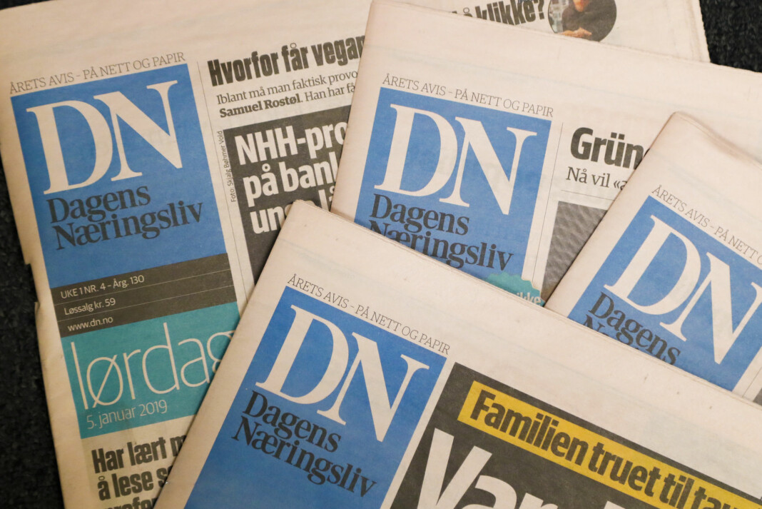 Korrigert for salget av Morgenbladet, som fant sted i slutten av første halvår, var det en nedgang i samlede brukerinntekter på 2 prosent for fjerde kvartal.