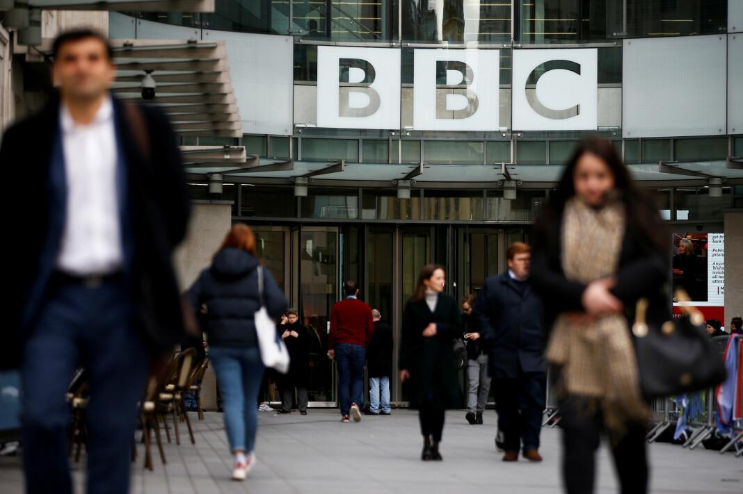 BBCs hovedkvarter i London.