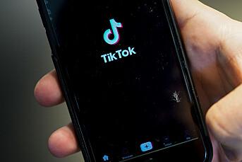 Forbrukerrådet klager Tiktok inn til EU-kommisjonen