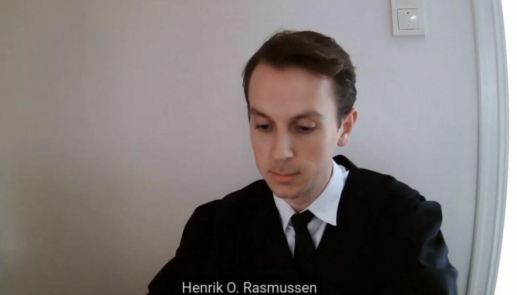 Advokat Henrik Otterlei Rasmussen forventer at tingrettsdommen raskt blir opphevet.