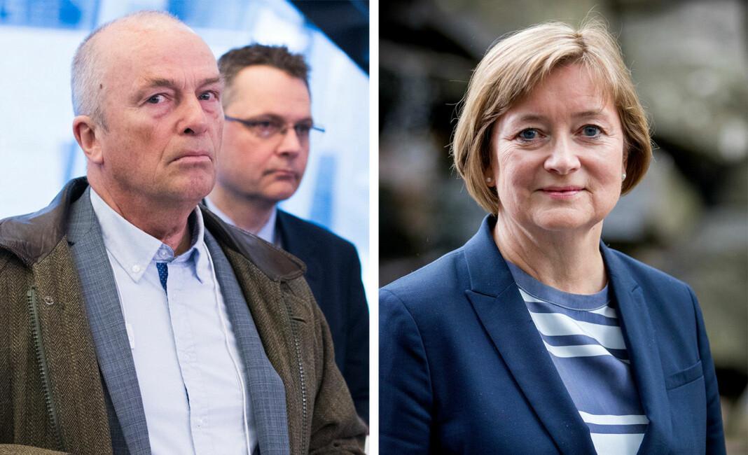 Redaktørforeningens styre diskuterte Hans Rustads nylige kommentarer. Her ved styreleder Hanna Relling Berg.