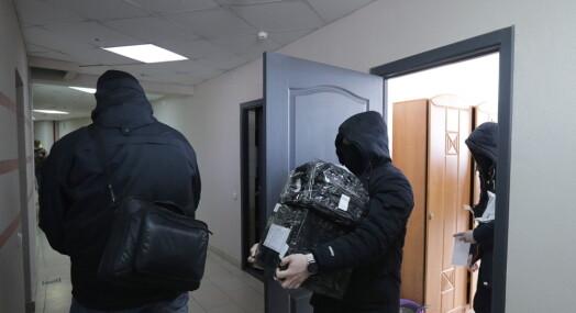 Razziaer mot journalister og aktivister i Hviterussland