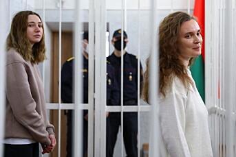 Hviterussiske journalister dømt til fengselsstraff