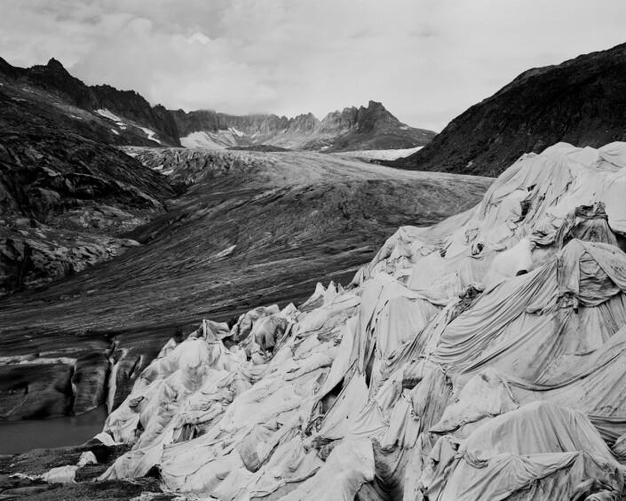 Rhöne Glacier, Sveits, september 2018.