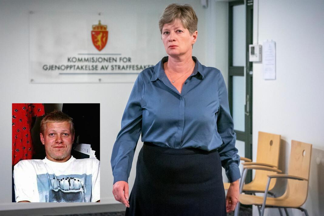 Kommisjonen for gjenopptakelse av straffesaker har konkludert med at Viggo Kristiansen (innfelt) får prøvd straffesaken sin på nytt. Kommisjonen ledes av Siv Hallgren.