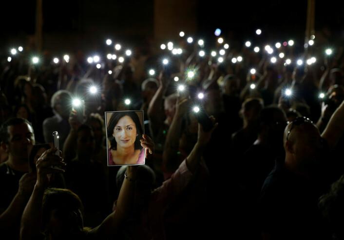 Mann dømt til 15 års fengsel for journalist-drap på Malta
