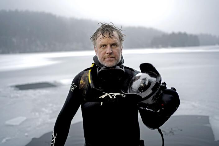 Aleksander Nordahl på Lutvann.