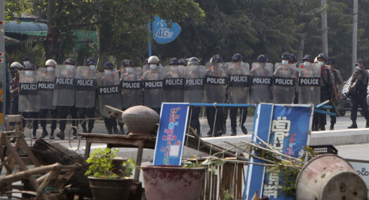 AP-journalist pågrepet under demonstrasjon i Myanmar