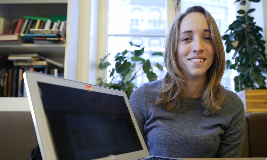 Runa Sandvik er ansatt i Cyberforsvaret