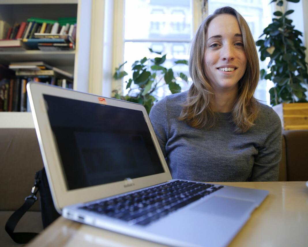 – Historisk sett så har jeg alltid tenkt at den jobben Forsvaret gjør er veldig spennende, sier Runa Sandvik.