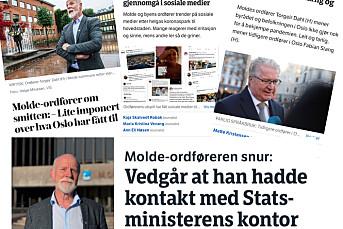 Molde-ordfører: – Jeg tok dessverre ikke sitatsjekk