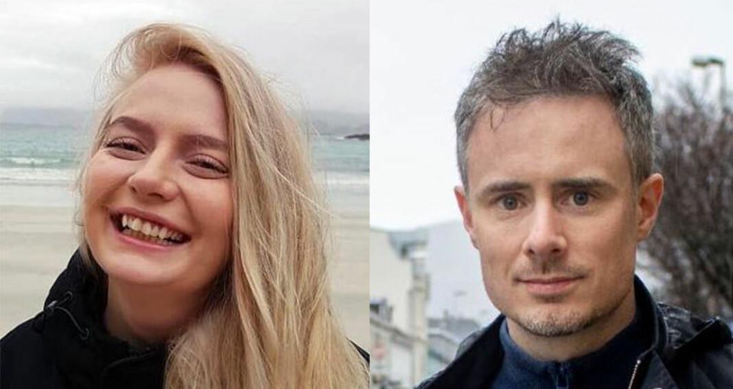 Synne Mauseth og Stian Hansen er klare for nye oppgaver i Midtnorsk Næringsliv.