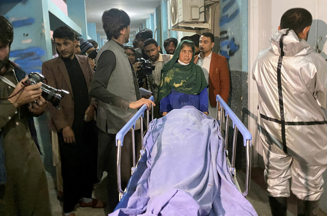 Angrepet skjedde i byen Jalalabad øst i det krigsherjede landet.