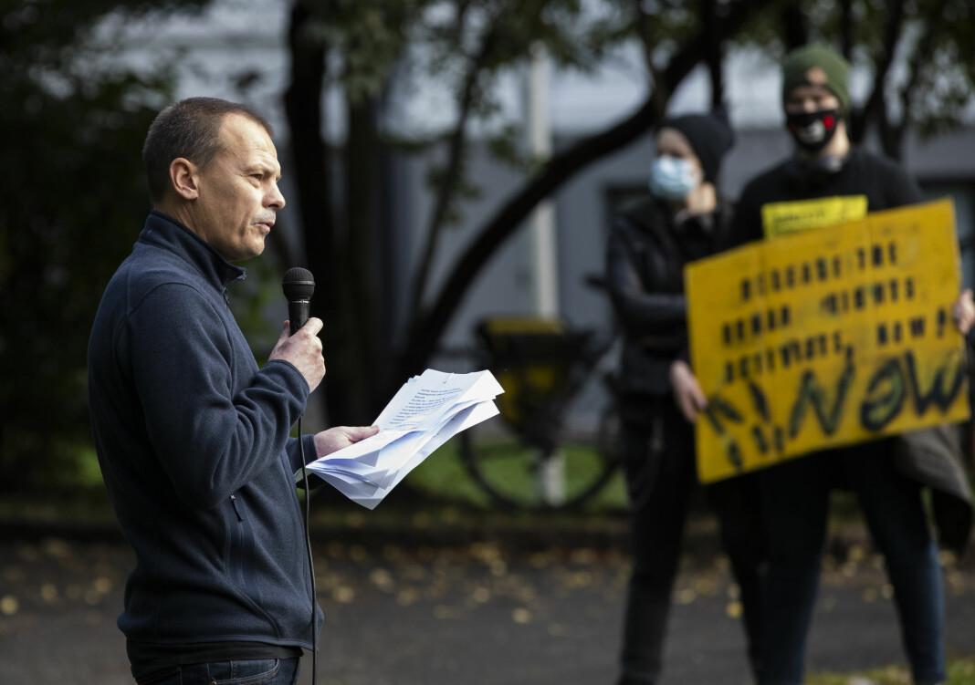 Josimar-redaktør Håvard Melnæs har tatt standpunkt for boikott av Qatar-VM.