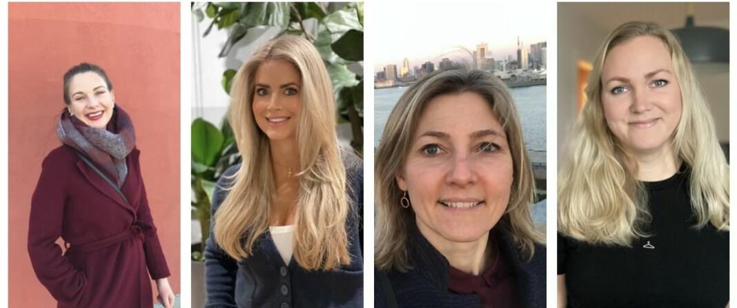 Karina Rydningen Torberntsson, Maren Wilberg Rostad, Martine Røiseland og Tiril Vik Nordeide har alle fått jobb i Avisa Oslo.